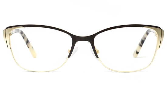 Stainless Steel womens Cat Eye Glasses 1812