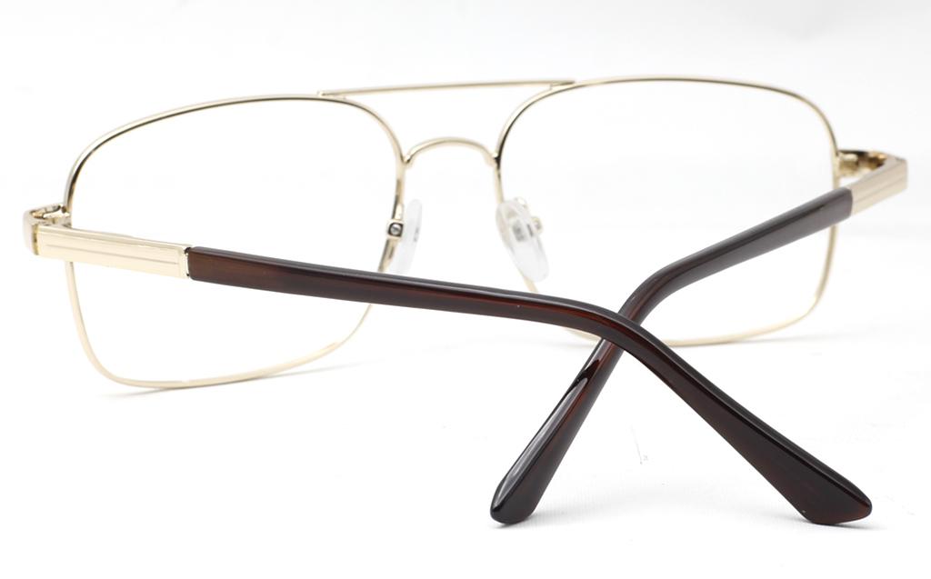 Mens Double Bridge Eyeglasses 6678
