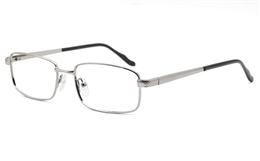 Mens Stainless Rectangle Glasses 6680 for Fashion,Classic,Party Bifocals