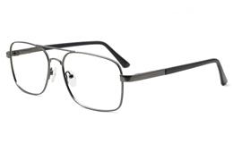 Mens Double Bridge Eyeglasses 6678 for Fashion,Classic,Party Bifocals