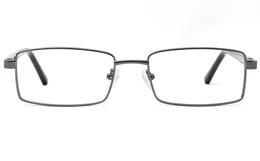 Mens Rectangular Glasses 6073 for Fashion,Classic,Party Bifocals