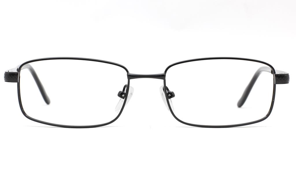 Mens Stainless Rectangle Glasses 6680