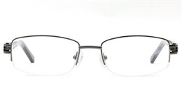 Womens Half Rim Glasses 6679 for Fashion,Classic,Party Bifocals