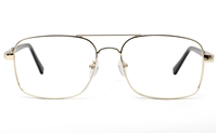 Mens Double Bridge Eyeglasses 6678