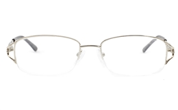 Half Rimless Women Glasses for Fashion,Classic,Party Bifocals