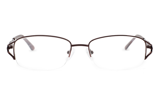 Half Rimless Women Glasses