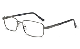 Men Rectangle eyeglasses 6668 for Fashion,Classic,Party,Nose Pads Bifocals