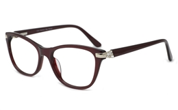 Full-Rim women Acetate glasses 0891 for Fashion,Classic,Party Bifocals