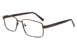 Eye glasses Metal Frames 6076 for Fashion,Classic,Party,Nose Pads Bifocals