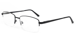 Big Mens Eyeglasses 6075 for Fashion,Classic,Party,Nose Pads Bifocals