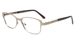 Oval Cat Eye glasses 6077 for Fashion,Classic,Party,Nose Pads Bifocals