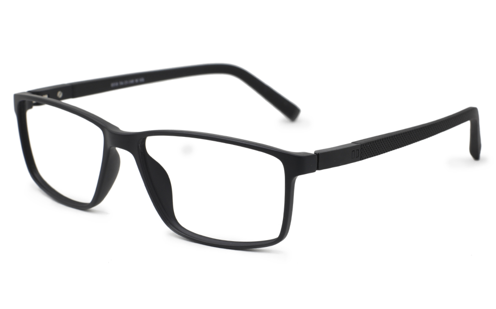 Mens Rectangle Eyeglasses 0310