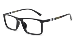 Womens  Rectangle Eyeglasses  7035 for Fashion,Classic,Party Bifocals