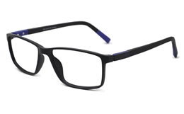 Mens Rectangle Eyeglasses 0310 for Fashion,Classic,Party Bifocals