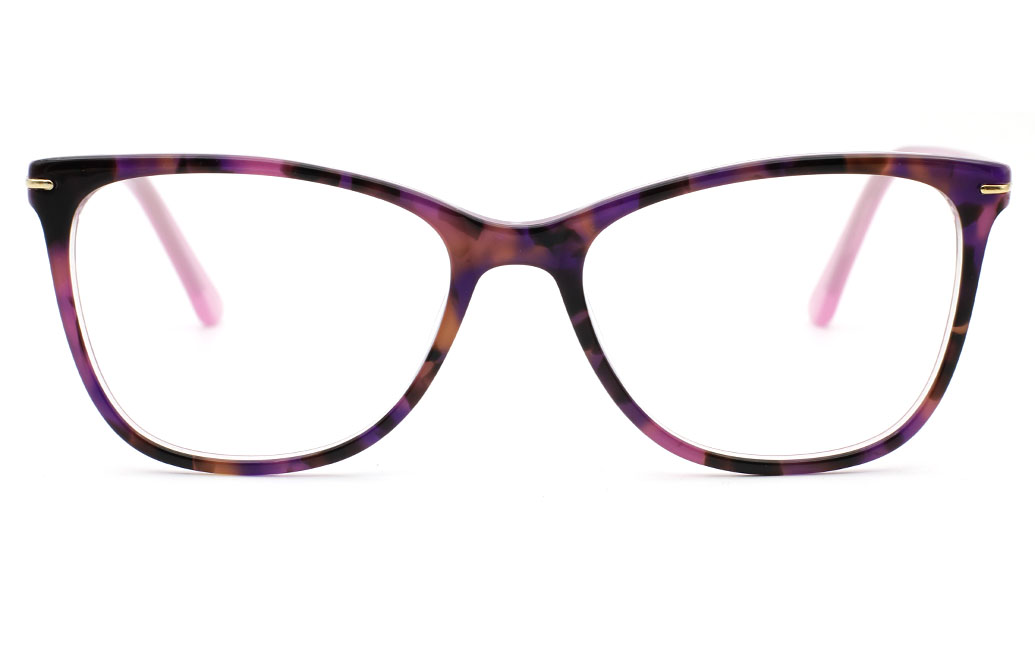 Acetate Oval Glasses OP329