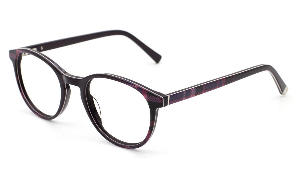 Round Prescription Eyeglasses OP408