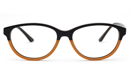 Two Tone Oval glasses for Fashion,Classic,Party Bifocals