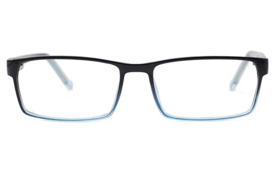 Rectangle Plastic Eyeglasses