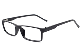 Rectangle Plastic Eyeglasses
