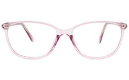 Oval Plastic Eyeglasses Frame