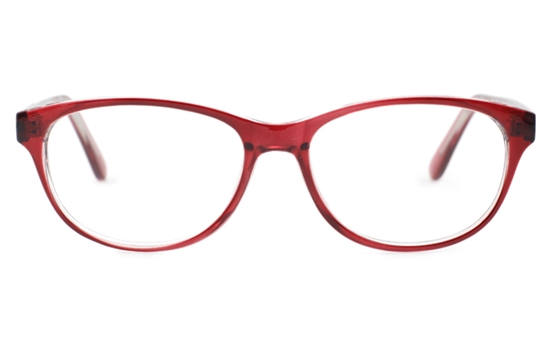 Oval Glasses Plastic Frame