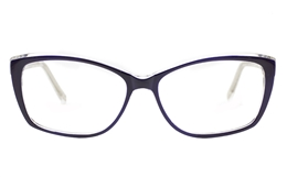 Semi Cat Eye Glasses for Fashion,Classic,Party Bifocals