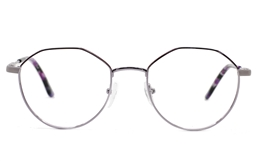 Half Hexagonal Oval glasses