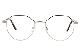 Half Hexagonal Oval glasses for Fashion,Classic Bifocals