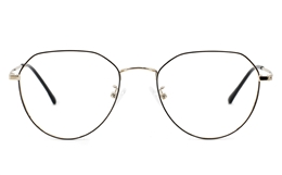 Hexagonal Oval EyeGlasses for Fashion,Classic,Party Bifocals
