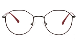 Oval Hexagonal Glasses for Fashion,Classic,Party,Nose Pads Bifocals