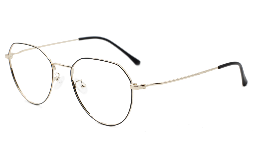 Hexagonal Oval EyeGlasses