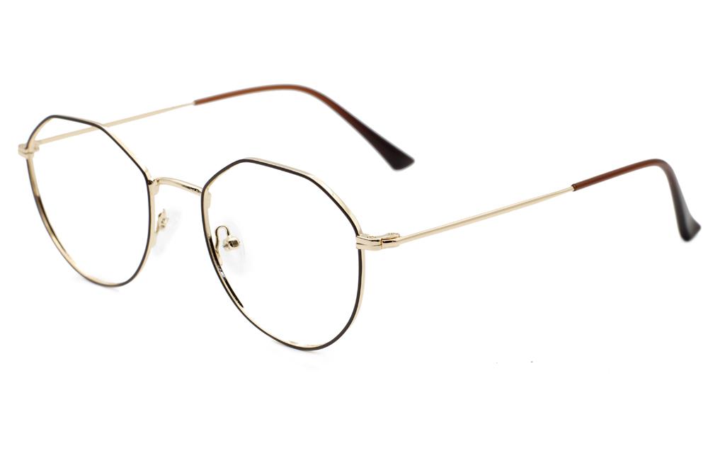 Oval Hexagonal Glasses