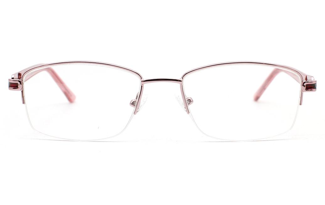 Semi Rimmless Glasses Womens