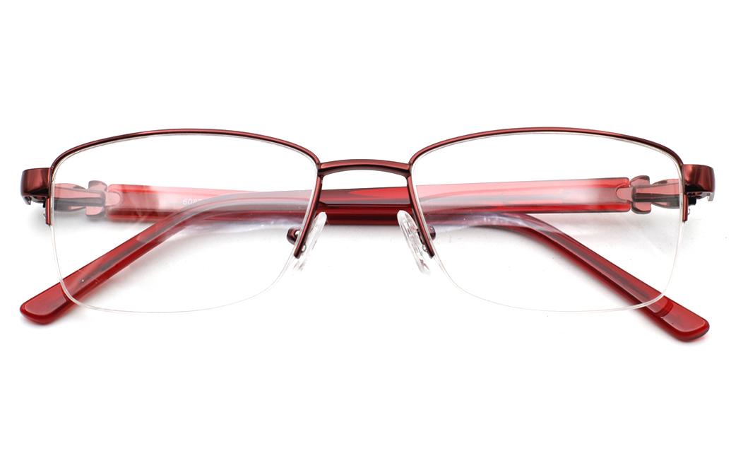 Half Rim women eyeglasses