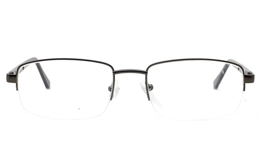 Semi Rimless Unisex Eyeglasses for  Bifocals