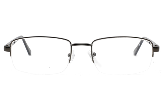 Semi Rimless Unisex Eyeglasses