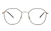 Oval Hexagonal Prescription Glasses 50-18