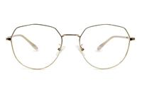 Hexagonal Prescription Glasses 52-18