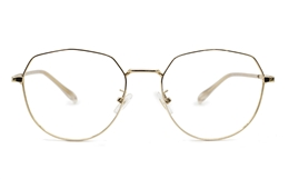 Hexagonal Prescription Glasses 52-18 for Fashion,Classic,Party,Nose Pads Bifocals