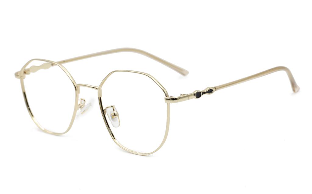 Oval Hexagonal Prescription Glasses 50-18