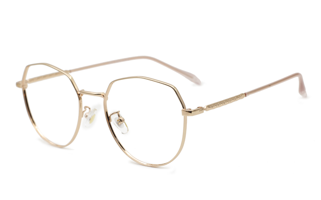 Hexagonal Prescription Glasses 52-18