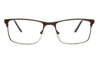 Men Two Tone Eyeglasses Frame