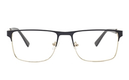 Men Flat Top EyeGlasses for Fashion,Classic,Party,Nose Pads Bifocals
