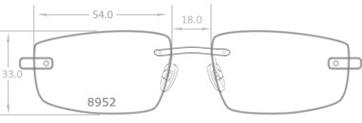 selected lens shape