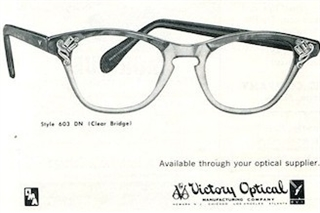 Victory Optical: Past (1954) And Present: Eyewear Style El Ria