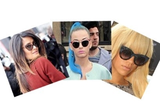 8d62c38048fd View · Everywhere Celebrities Are Wearing These Amazing Cat Eye Sunglasses!