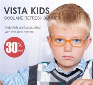 vista kids glass 30% off