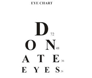 March is National Eye Donor Month