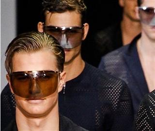 Armani Mens Masks Spring Summer 2013