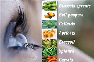 Saving Sight Sunday: Best Foods For Your Eyes Infographic